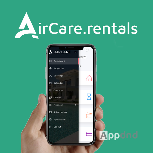 App & web dashboard for holiday rental management